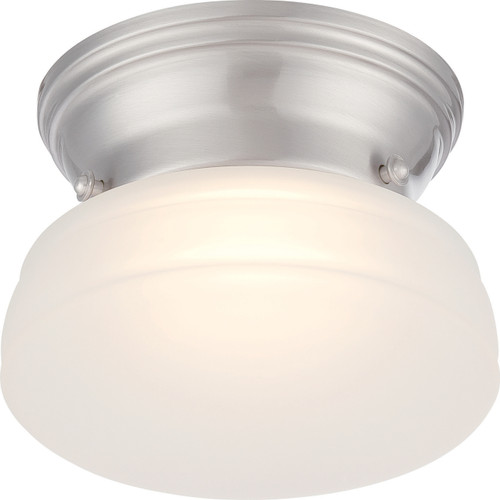 NUVO Lighting 62/612 Bogie LED Flushmount Fixture with Frosted Glass