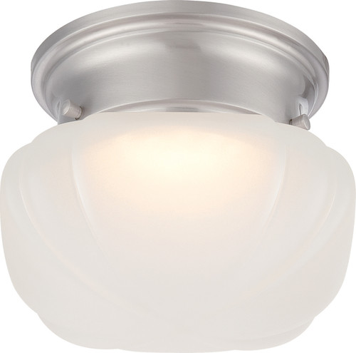 NUVO Lighting 62/613 Bogie LED Flushmount Fixture with Frosted Glass