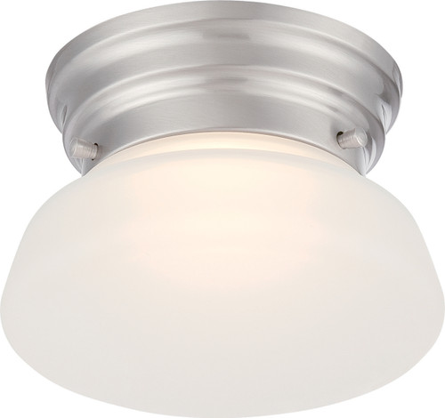 NUVO Lighting 62/614 Bogie LED Flushmount Fixture with Frosted Glass