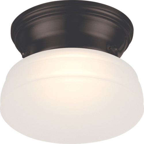 NUVO Lighting 62/712 Bogie LED Flushmount Fixture with Frosted Glass