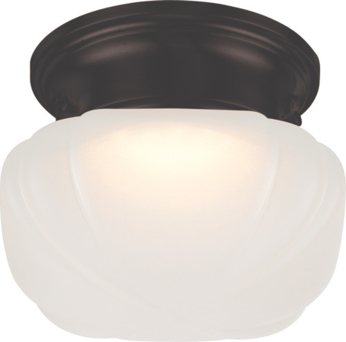 NUVO Lighting 62/713 Bogie LED Flushmount Fixture with Frosted Glass