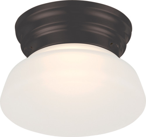 NUVO Lighting 62/714 Bogie LED Flushmount Fixture with Frosted Glass