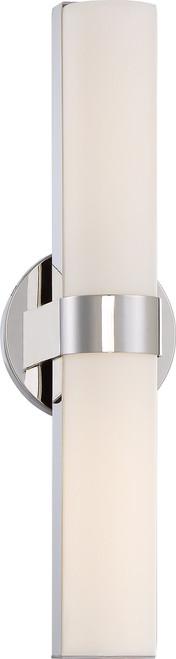 "NUVO Lighting 62/722 Bond Double 17-1/2"" LED Vanity with White Acrylic Lens"