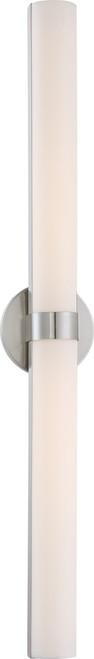 "NUVO Lighting 62/734 Bond Double 37-3/8"" LED Vanity with White Acrylic Lens"