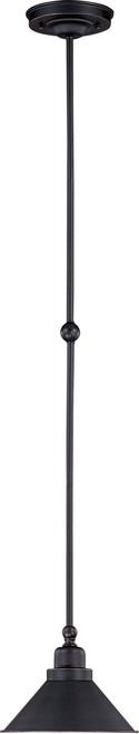 NUVO Lighting 60/1708 Bridgeview 1 Light Mini Pendant