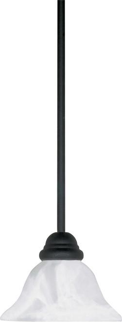 "NUVO Lighting 60/386 Castillo 1 Light 8"" Mini Pendant with Hang-Straight Canopy"