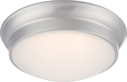 NUVO Lighting 62/605 Conrad LED Flushmount Fixture with Frosted Glass