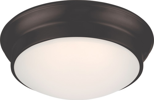 NUVO Lighting 62/705 Conrad LED Flushmount Fixture with Frosted Glass