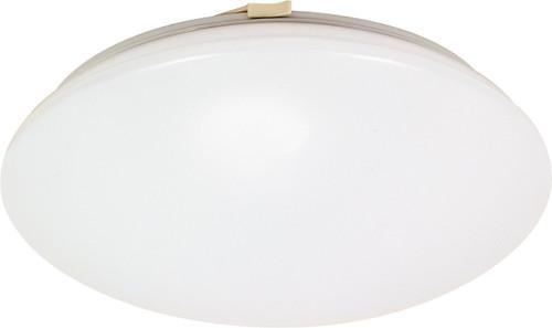 "NUVO Lighting 60/916 Crispo 1 Light CFL 12"" Flushmount (1) 18W GU24 (Bulbs Included)"