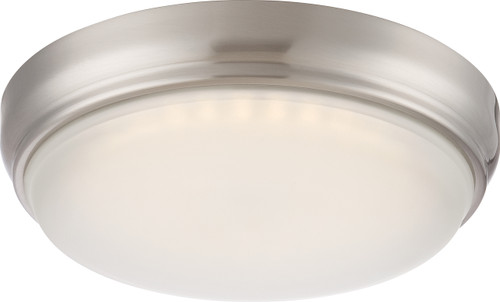 NUVO Lighting 62/331 DOT LED Flushmount Fixture with Frosted Glass