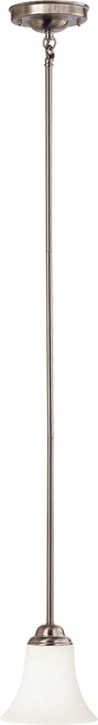 NUVO Lighting 60/1831 Dupont 1 Light Mini Pendant with Satin White Glass