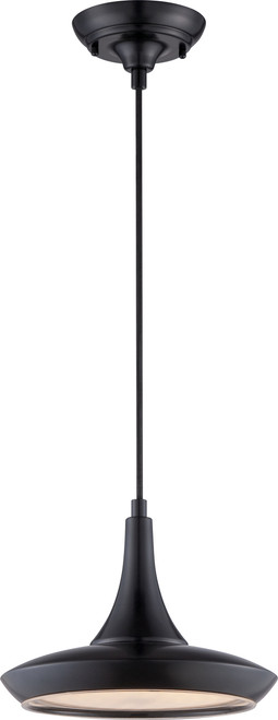 NUVO Lighting 62/443 Fantom LED Colored Pendant with Rayon Wire