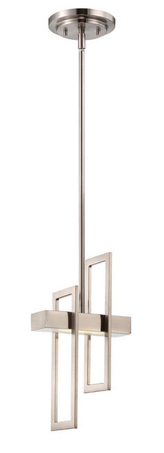 NUVO Lighting 62/106 Frame 1 Module Pendant with Frosted Glass
