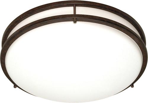 "NUVO Lighting 60/908 Glamour 3 Light CFL 13"" Flushmount (3) 13W GU24 (Bulbs Included)"