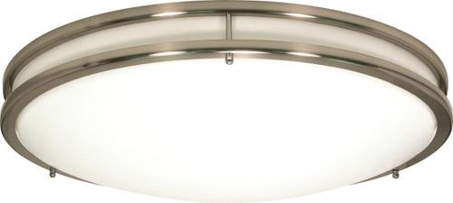 "NUVO Lighting 60/900 Glamour 3 Light CFL 13"" Flushmount (3) 13W GU24 (Bulbs Included)"