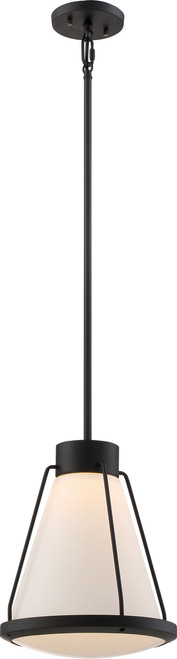 NUVO Lighting 62/597 Hydro LED Pendant with White Glass