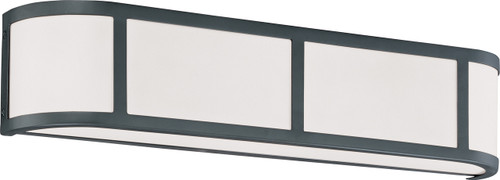 NUVO Lighting 60/2973 Odeon 3 Light Wall Sconce with Satin White Glass