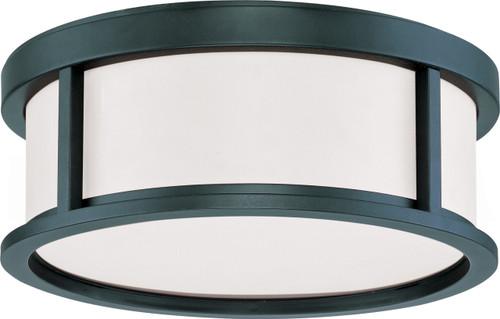 "NUVO Lighting 60/2981 Odeon 2 Light 13"" Flushmount Dome with Satin White Glass"