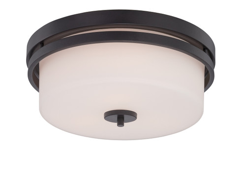 NUVO Lighting 60/5307 Parallel 3 Light Flushmount Fixture with Etched Opal Glass