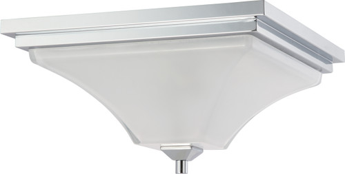 NUVO Lighting 60/4006 Parker 2 Light Flushmount Fixture with Sandstone Etched Glass