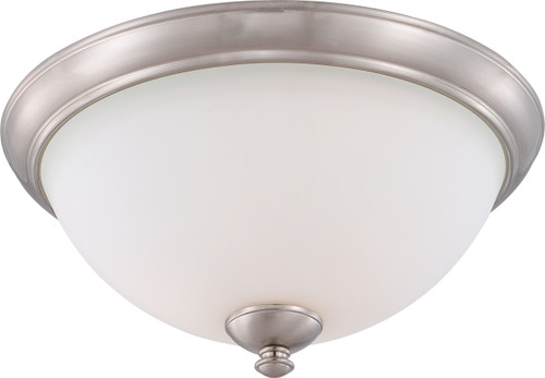 NUVO Lighting 60/5041 Patton 3 Light Flushmount Fixture with Frosted Glass