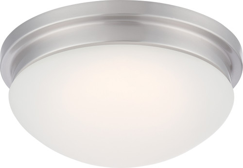 NUVO Lighting 62/606 Spector LED Flushmount Fixture with Frosted Glass
