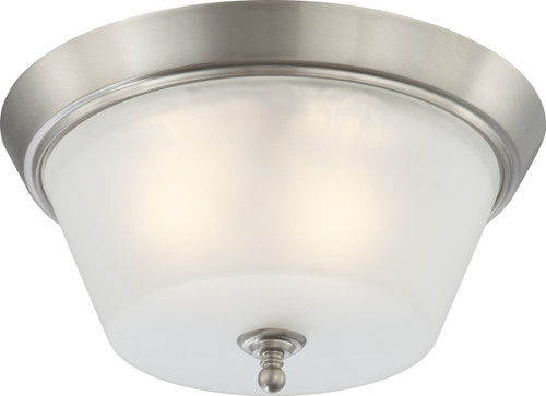 NUVO Lighting 60/4153 Surrey 3 Light Flushmount Dome Fixture with Frosted Glass