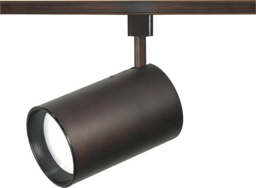NUVO Lighting TH344 1 Light R30 Straight Cylinder Track Head