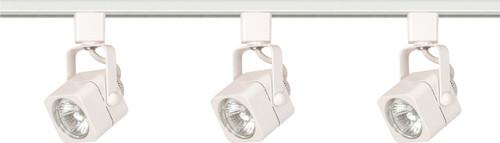 NUVO Lighting TK345 3 Light MR16 Square Track Kit Line Voltage