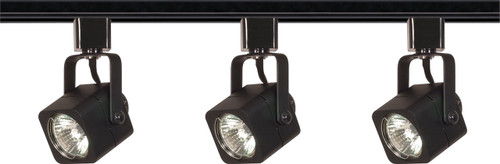 NUVO Lighting TK346 3 Light MR16 Square Track Kit Line Voltage