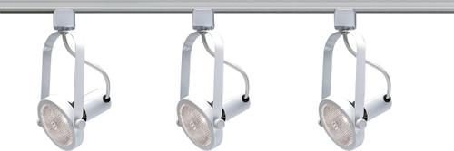 NUVO Lighting TK316 3 Light PAR30 Gimbal Ring Track Kit
