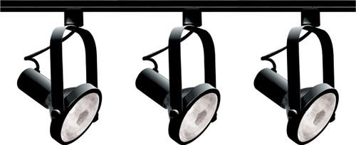 NUVO Lighting TK317 3 Light PAR30 Gimbal Ring Track Kit
