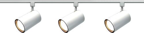 NUVO Lighting TK318 3 Light R30 Straight Cylinder Track Kit