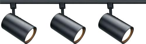 NUVO Lighting TK319 3 Light R30 Straight Cylinder Track Kit