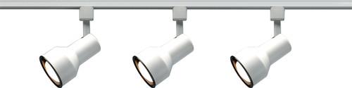 NUVO Lighting TK320 3 Light R30 Step Cylinder Track Kit