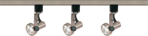 NUVO Lighting TK353 3 Light MR16 Gimbal Ring Track Kit Line Voltage