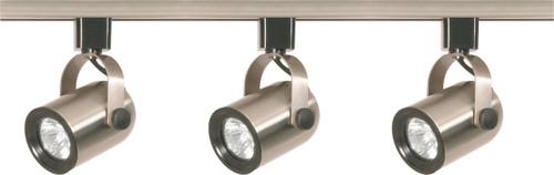 NUVO Lighting TK354 3 Light MR16 Round Back Track Kit Line Voltage
