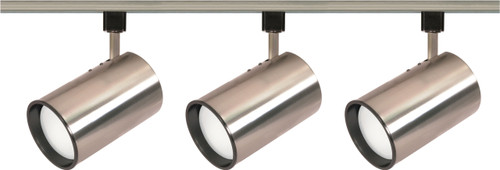 NUVO Lighting TK341 3 Light R30 Straight Cylinder Track Kit