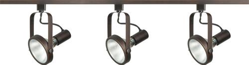 NUVO Lighting TK362 3 Light PAR30 Gimbal Ring Track Kit