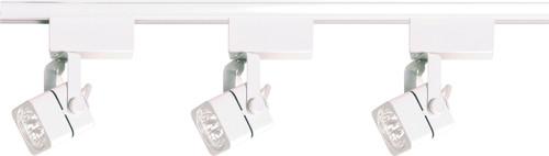 NUVO Lighting TK310 3 Light MR16 Square Track Kit Low Voltage