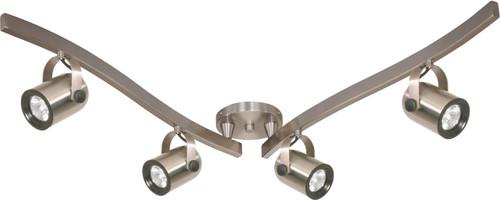 NUVO Lighting TK384/2 4 Light MR16 Halogen Swivel Track Kit