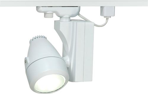 NUVO Lighting TH385 Metal Halide Track Head White (1) PAR30 Long Neck 70W/MH/ Medium Base