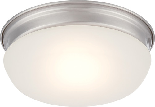 NUVO Lighting 62/603 Trevor LED Flushmount Fixture with Frosted Glass