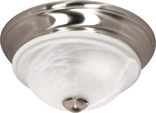 """NUVO Lighting 60/586 Triumph 1 Light 11"""" Flushmount with Sculptured Glass Shades"""
