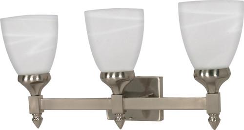 "NUVO Lighting 60/468 Triumph 3 Light CFL 21"" Vanity (3) 13W GU24 (Bulbs Included)"