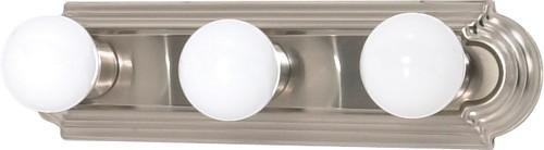 "NUVO Lighting 60/300 3 Light 18"" Vanity Racetrack Style"