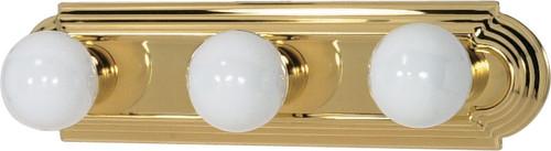 "NUVO Lighting 60/308 3 Light 18"" Vanity Racetrack Style"