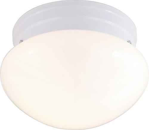 "NUVO Lighting 60/403 2 Light CFL 10"" Medium White Mushroom (2) 13W GU24 (Bulbs Included)"