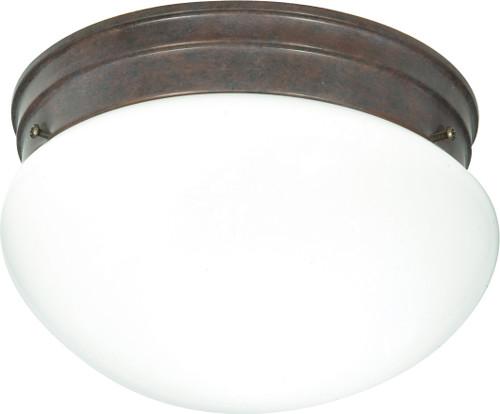 "NUVO Lighting 60/407 2 Light CFL 10"" Medium White Mushroom (2) 13W GU24 (Bulbs Included)"