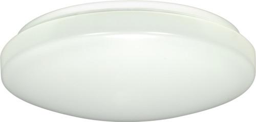 "NUVO Lighting 62/545 1-Light 11"" Flushmounted LED Light Fixture White Finish"